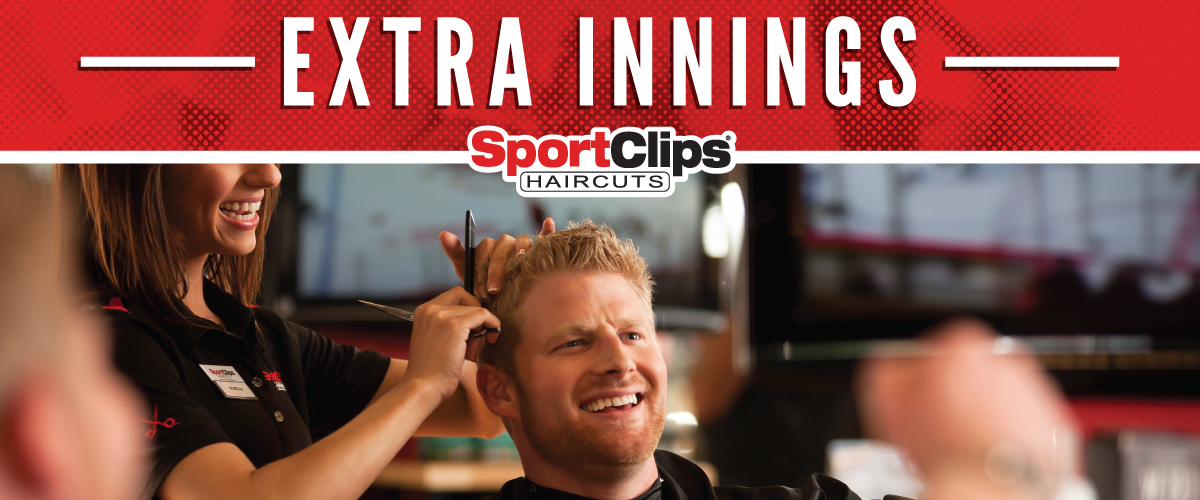 The Sport Clips Haircuts of Mesa Riverview  Extra Innings Offerings