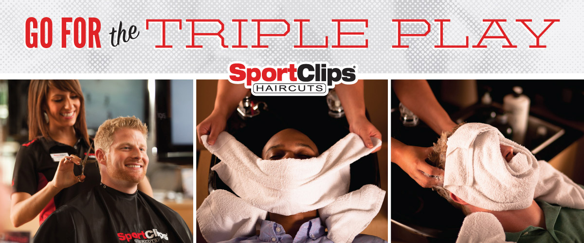 The Sport Clips Haircuts of Mesa Riverview  Triple Play
